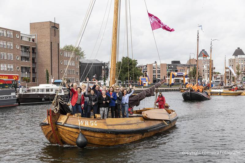 VBA met 2 botters op Havenfestival
