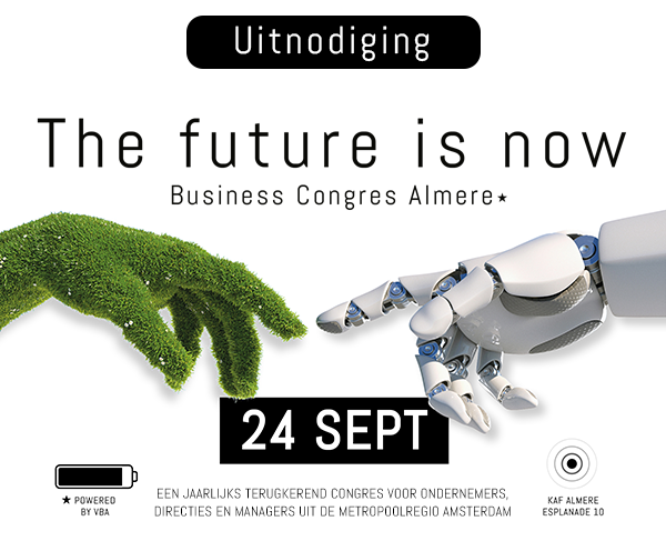 VBA Business Congres Almere 'The Future is now'